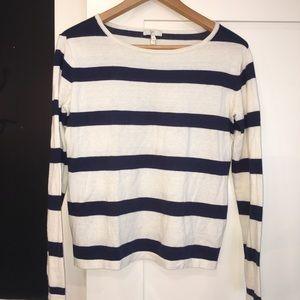 Joie Sailor Cotton/Cashmere Sweater XS
